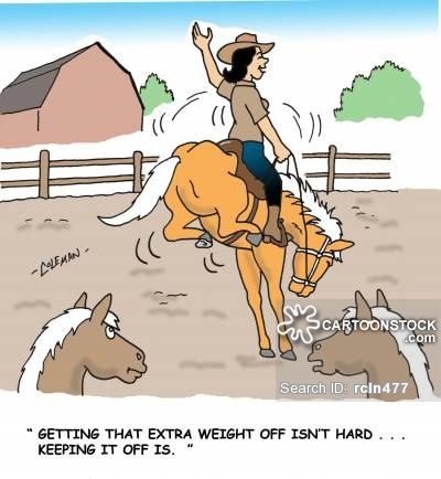 'Getting that extra weight off isn't hard. . . keeping it off is.'