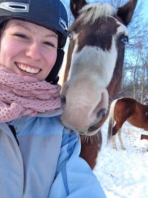 Emily and Cheyenne selfie 2